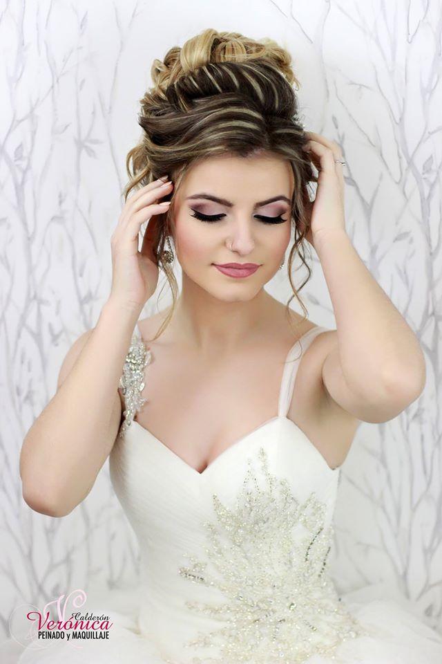 maquillaje y peinado de novia a domicilio