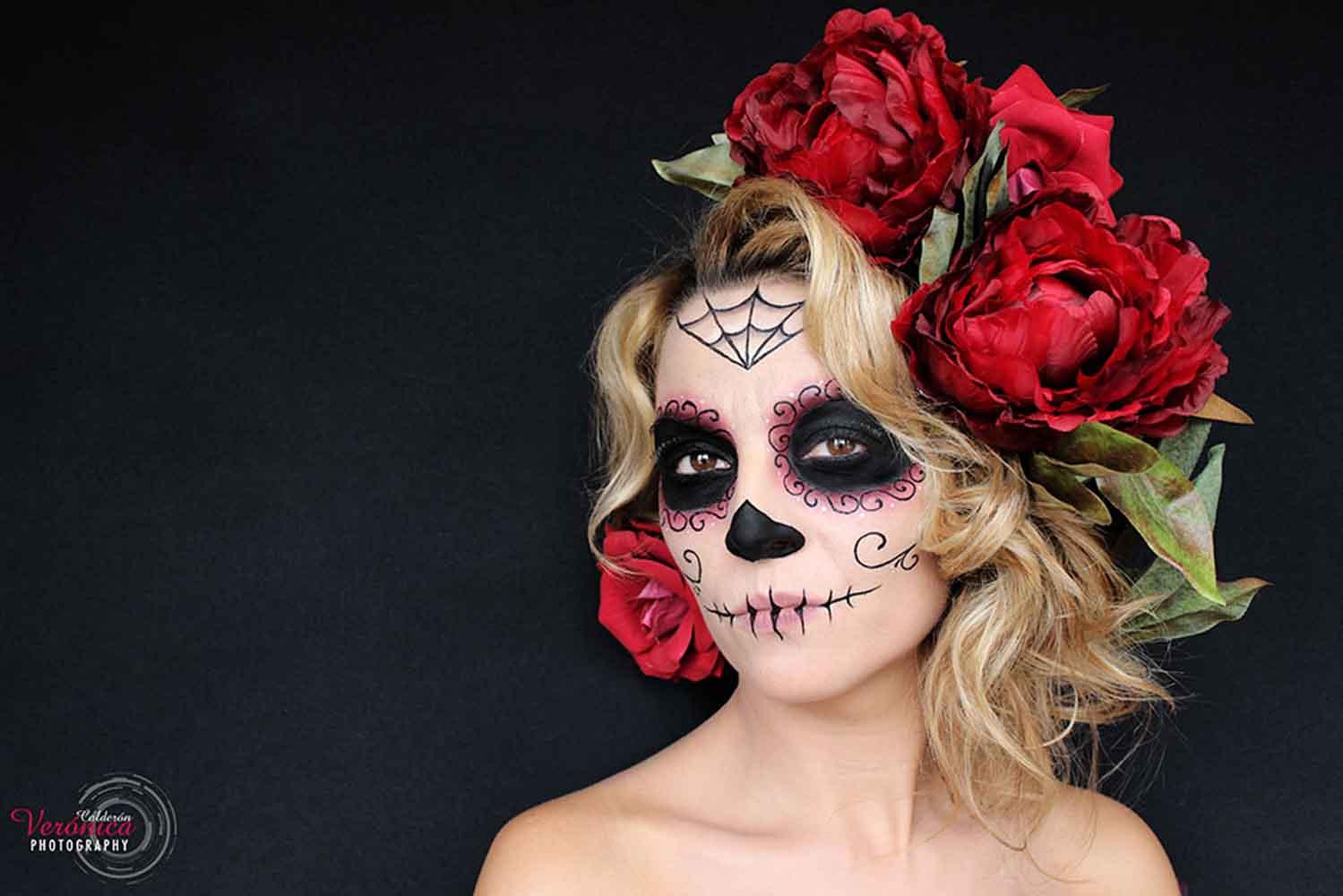 maquillaje halloween Verónica Calderón