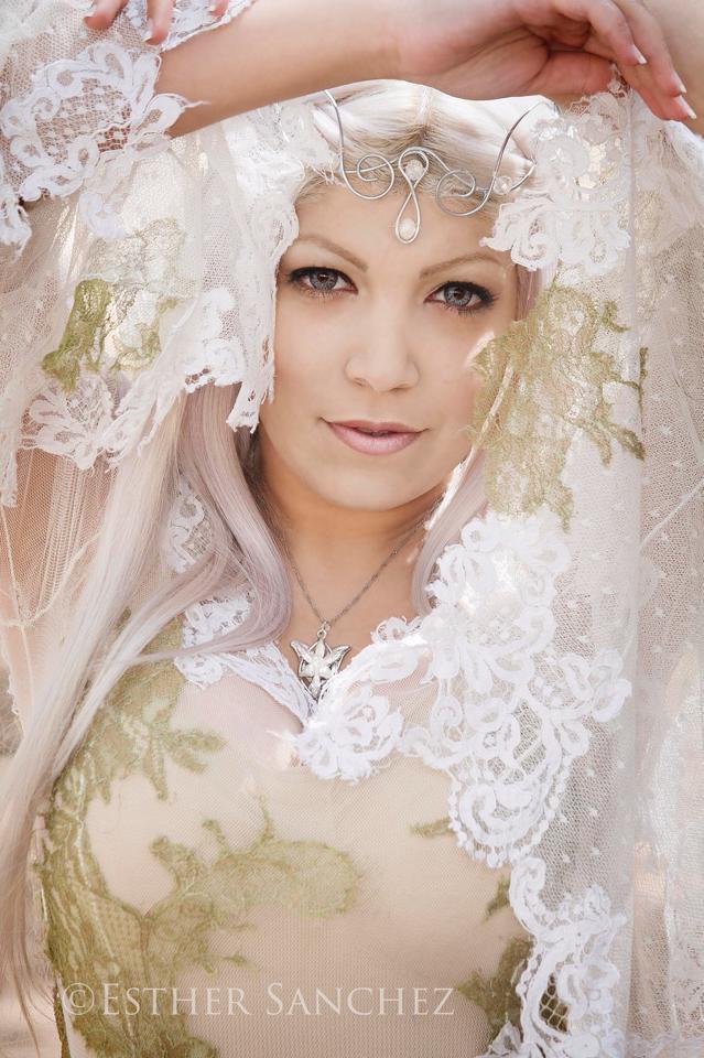 maquillaje caracterización elfo señor de los anillos
