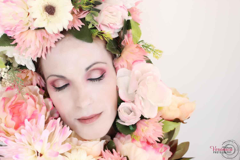 maquillaje fantasía caracterización piel pálida