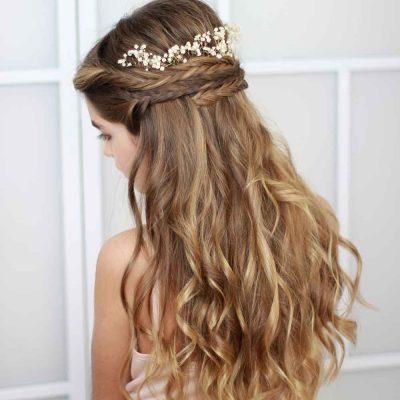 5 claves para tener el cabello radiante el día de tu boda.