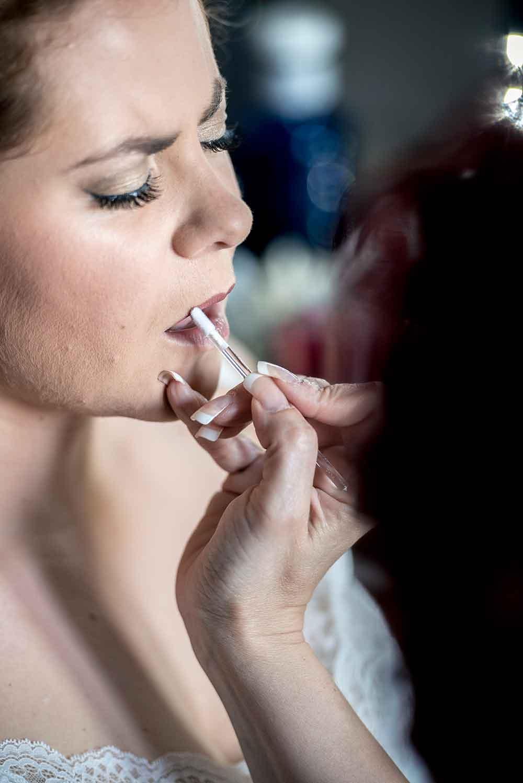 maquillaje aplicador labios domicilio Veronica Calderon
