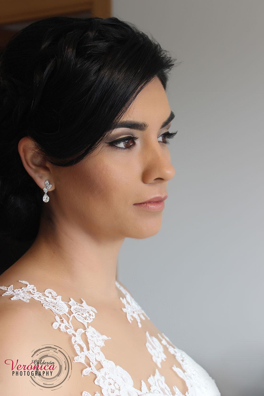 maquillaje pestañas novia domicilio Verónica Calderón