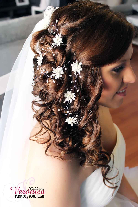 Peinados de novia recogidos informales