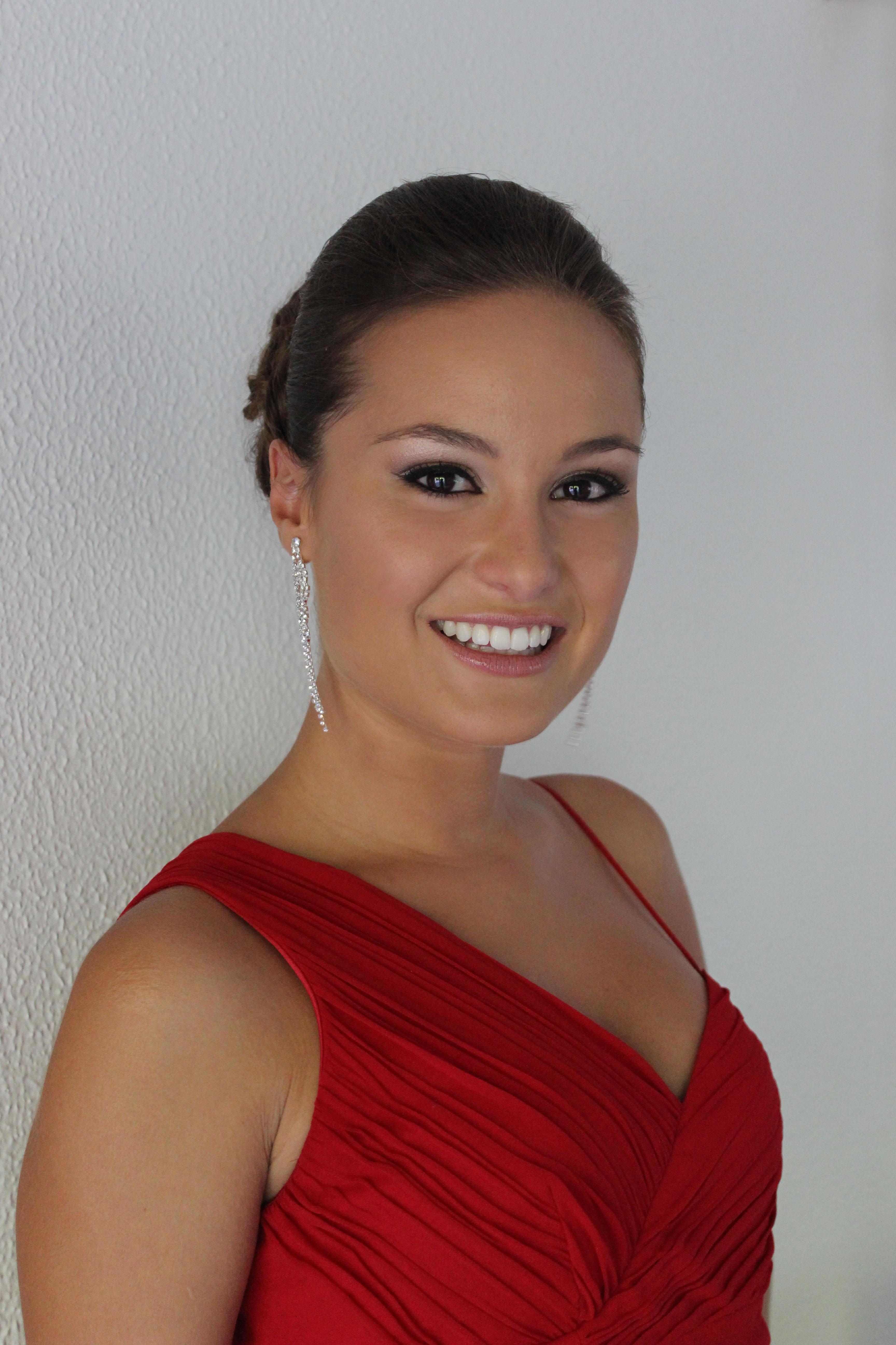 Maquillaje suave labios nude novias domicilio Verónica Calderón