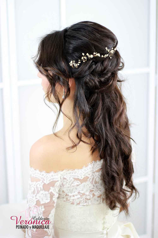 peinado-novia-efecto-semirecogido-despeinado-ondas-suaves-retorcidos-paniculata-peluquería-domicilio-madrid-verónica-calderón