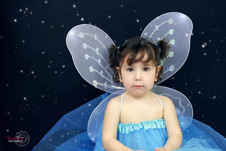 sesión fotos niñas hadas estrellas fotografía infantil Verónica Calderón