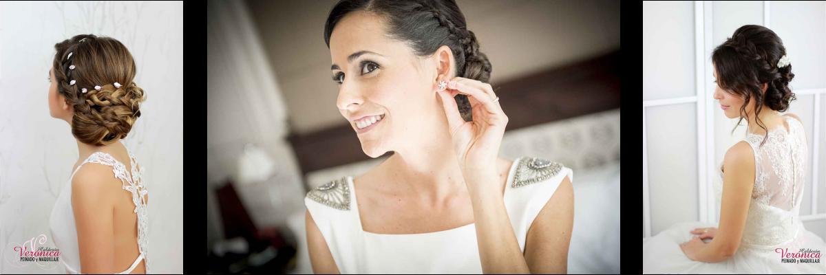 peinado maquillaje novias domicilio verónica calderón