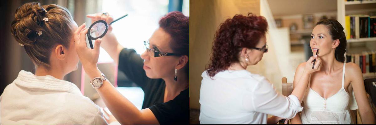 Verónica Calderón peluquería maquillaje domicilio experiencia novias bodas profesional